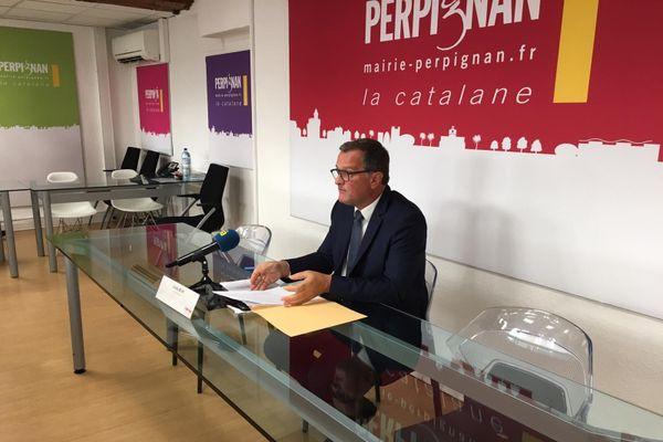 Le maire a annoncé notamment la mobilisation 7j/7 et 24h/24 de la police municipale de Perpignan