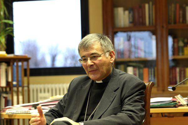 Mgr Pascal Roland est l'évêque de Belley-Ars