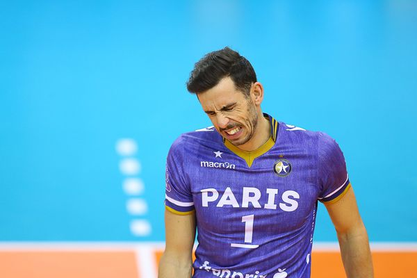 Le capitaine du Paris Volley, Nuno Pinheiro.