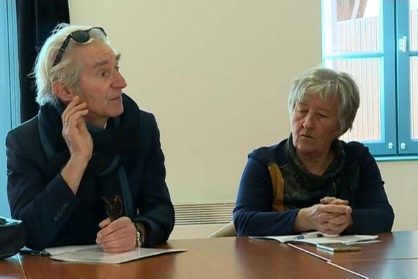 Jean-Paul Chanteguet et Annick Gombert ont très souvent travaillé ensemble, notamment pour tenter de sauver la maternité du Blanc.