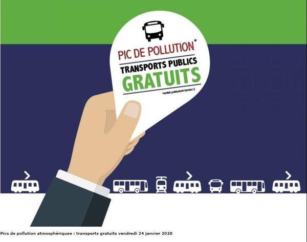 Le Havre Seine Métropole annonce la gratuité des transports publics du réseau LiA à titre expérimental pour la journée du vendredi 24 janvier.