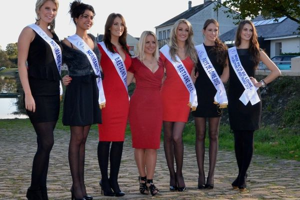 Les Miss Ouest 2012 et 2011