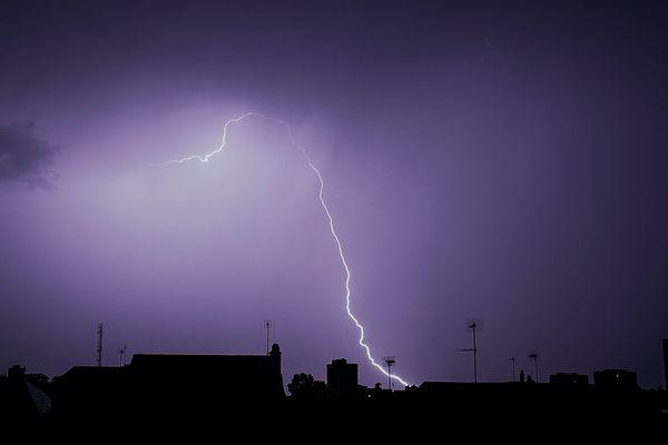 Les orages arrivent en Auvergne-Rhône-Alpes par l'Ouest de la région. Photo d'illustration.