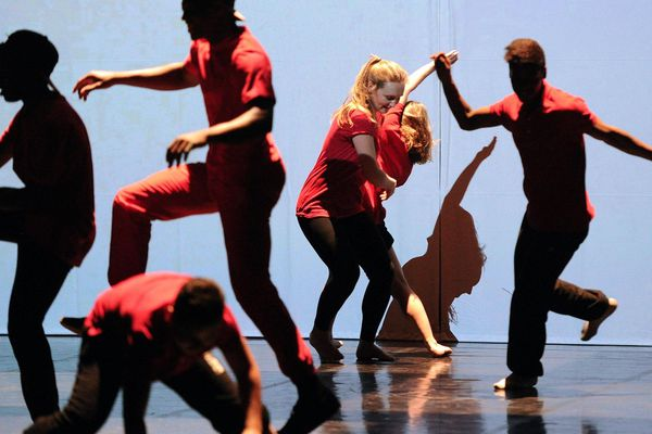 Le spectacle Babel 8.3 à la Maison de la Danse, en 2015, a été interprété par des habitants de Lyon