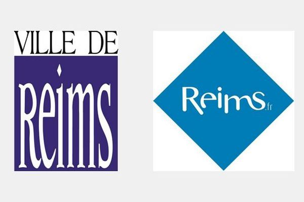 Logos ville de Reims (ancien - nouveau)