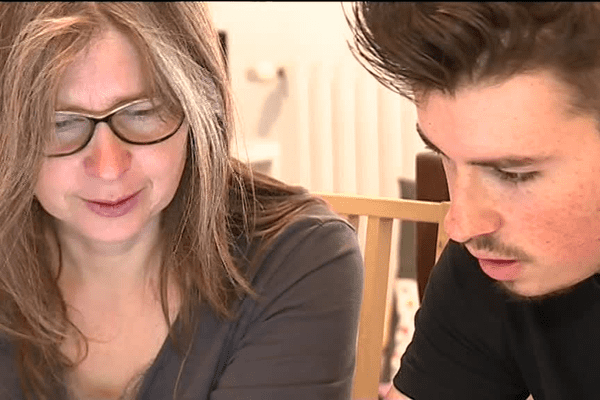 Evan et sa mère