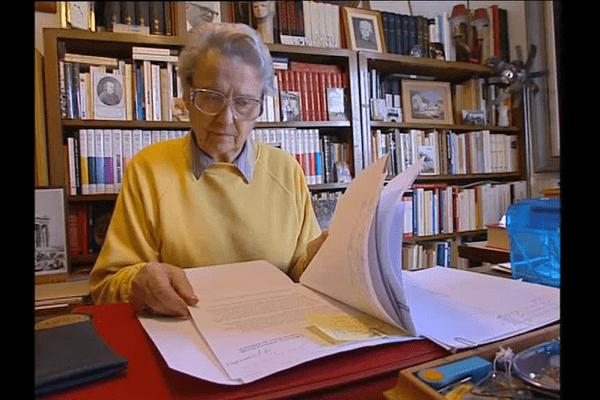 Raymonde Tillon à Rennes, image d'archives