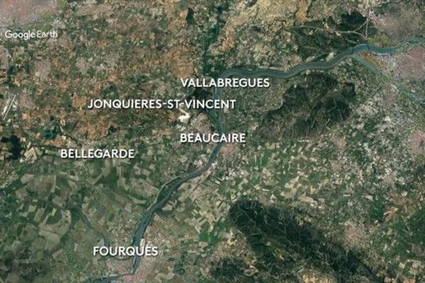 Cinq communes composent la CCBTA
