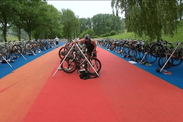 81 athlètes participent à la course élite.