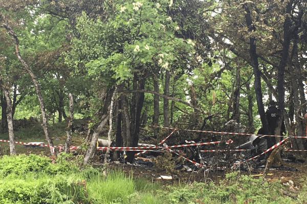 L'avion qui s'est crashé dans un site difficile d'accès