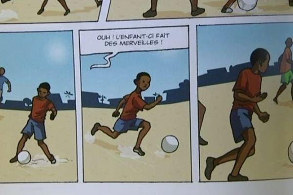 L'ascension du joueur de foot racontée en images