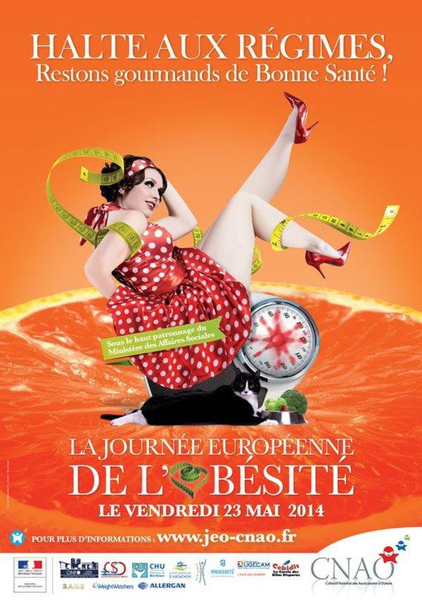 La journée européenne de l'obésité a lieu le vendredi 23 mai