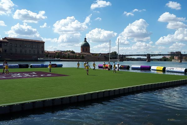 le waterugby à Toulouse ce weekend