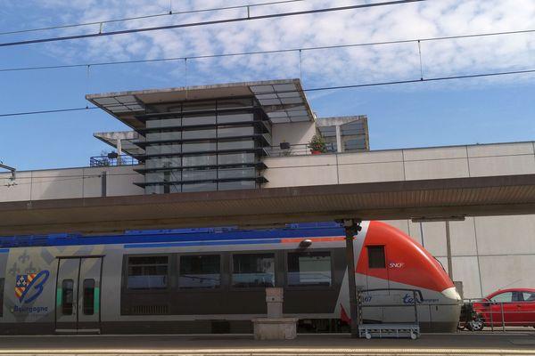 La gare de Dijon-Ville