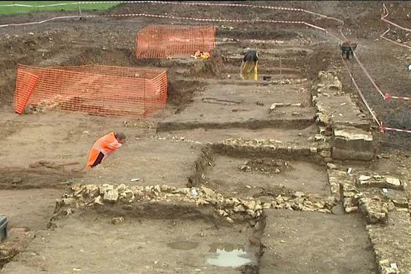 Seveux : fouilles archéologiques, et si c'était du gallo-romain ?