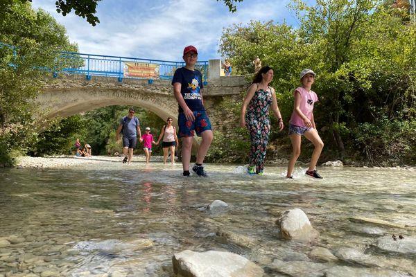 Le maire de Saint-Léger-du Ventoux a interdit l'accès aux gorges du Toulourenc depuis sa commune.