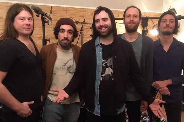 Le groupe Stuck in the Sound, originaire de Montreuil, en Seine-Saint-Denis.