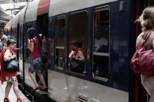 Le RER B est la deuxième ligne la plus chargée d'Europe, juste derrière le RER A (illustration).