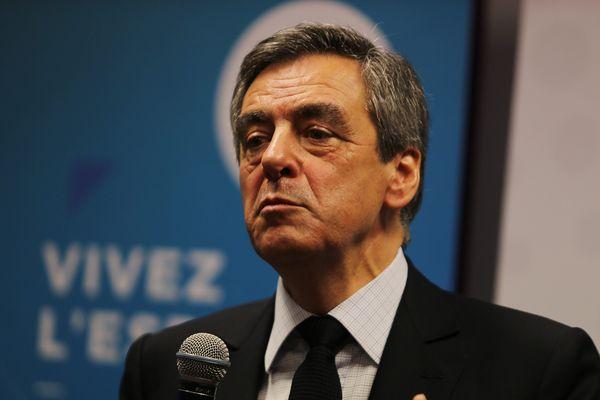 Déplacement de François Fillon à Troyes le 07/02/17