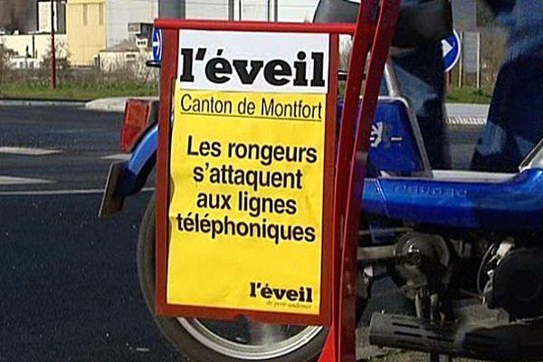 Les habitants de Saint-Philibert-sur-Risle subissent une panne de réseau depuis deux mois.