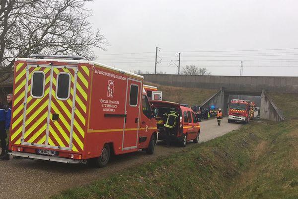 92 sapeurs pompiers sont mobilisés