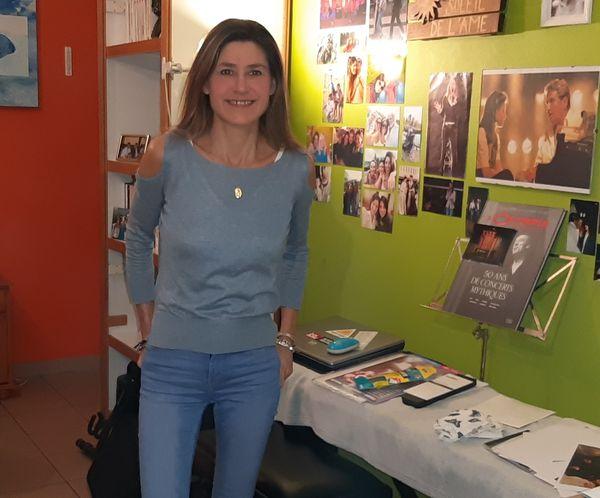 Artiste, chanteuse, compositrice-interprète, Nathalie Danaux s'inquiète pour les jeunes.