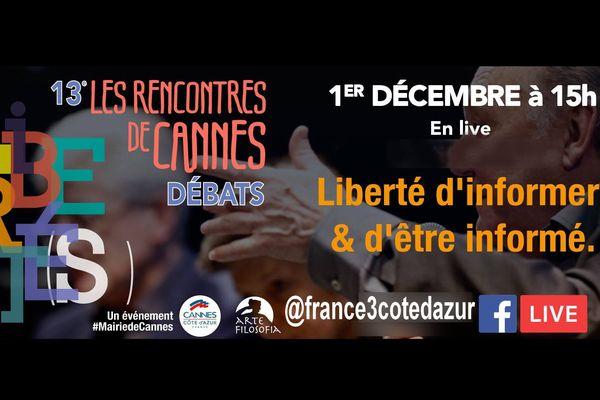 Table ronde 1 - Liberté d'informer et d'être informé - A suivre ne LIVE sur la page Facebook de France 3 Côte d'Azur