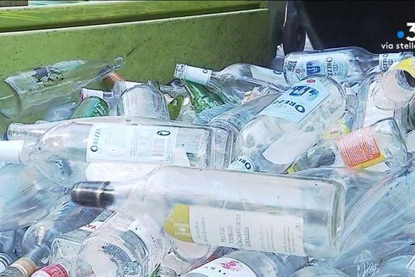 2.000 tonnes de verre sont collectées chaque année en Corse-du-Sud.
