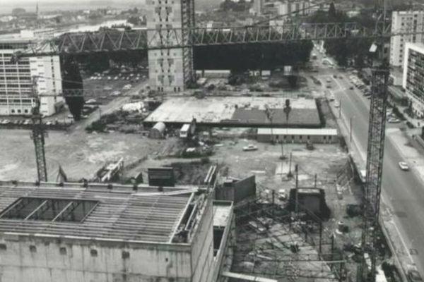 Mâcon : construction du quartier Marbé dans les années 60