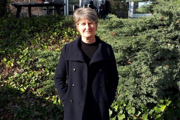 """Chantal Gomez, tête de liste """"Lutte ouvrière"""" aux élections régionales en 2021 en auvergne Rhône Alpes"""