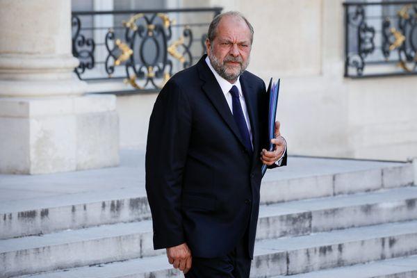 Éric Dupond-Moretti, à la sortie d'un conseil des ministres.