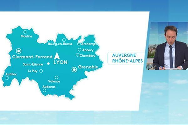 Extrait du Journal régional du 6 Avril 2021 piloté par Clermont-Ferrand