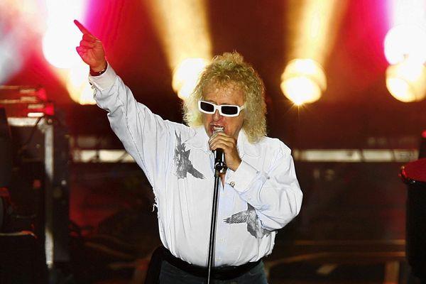 Michel Polnareff lors de sa tournée en France en 2007.