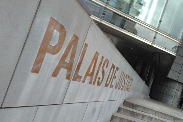 Palais de justice de Grenoble.