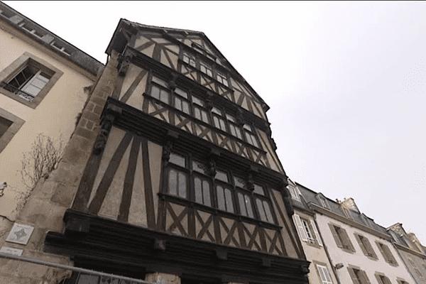 La maison dite de la Duchesse Anne démarre sa restauration.