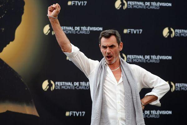 Le comédien Jérôme Bertin, alias commissaire Patrick Nebout dans la série Plus belle la vie diffusée sur France 3