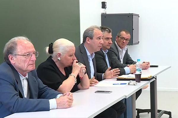 Jean Zuccarelli, conseiller municipal d'opposition à la mairie de Bastia, à Corte, le 20 mai 2017.