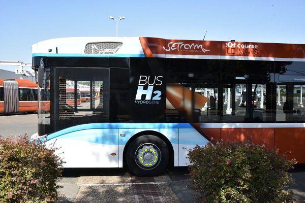 Le Mans inaugure son premier bus à hydrogène
