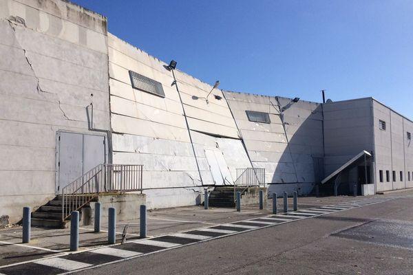Le toit du magasin Darty à Pérols menace de s'effondrer - mars 2018