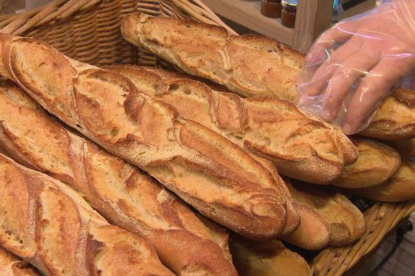 Les achats de pains sont très aléatoires en cette période de confinement.