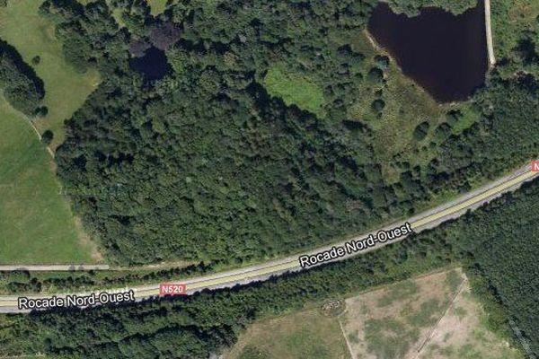 Accident entre Bellegarde et Couzeix sur la RN 520