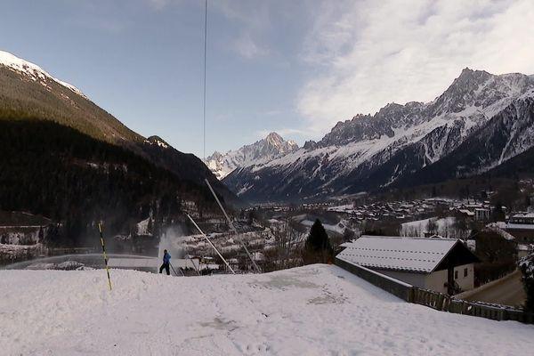 La Verte des Houches s'apprête à accueillir les épreuves de la Coupe du monde de ski.