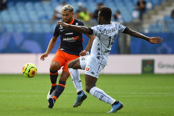 Angers SCO s'incline 4-1 contre Montpellier