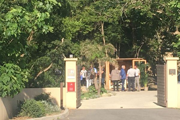 Les magistrats du tribunal correctionnel de Bastia se sont rendus sur le terrain à Cagnano ce jeudi 20 juin.