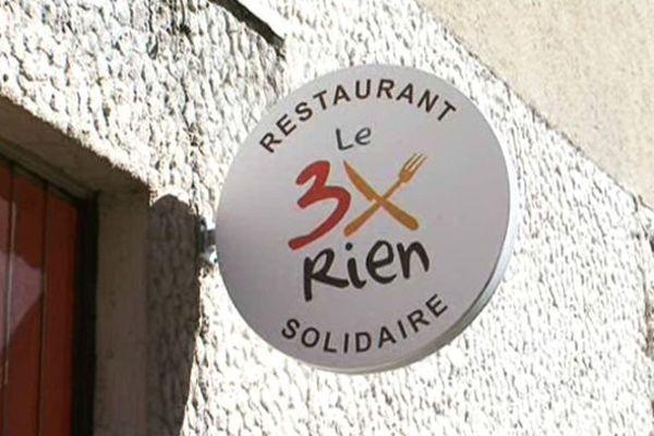 """Le restaurant le """"3 fois rien"""" risque de fermer ses portes. 34 septembre 2015."""