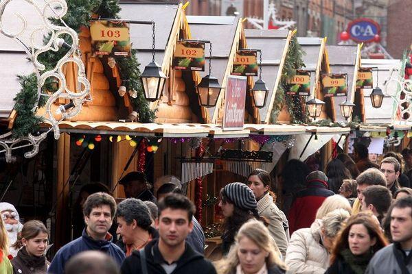 Le marché de Noël de Toulouse compte 119 chalets et 115 exposants.