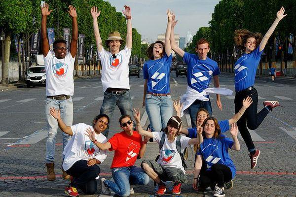 Pour la 4ème fois le Service Civique sera présent à Paris pour la fête nationale