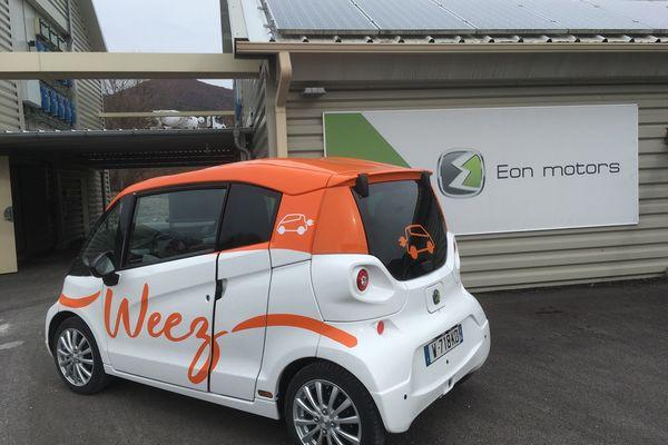 La Weez, voiture électrique fabriquée à Malijai (04).