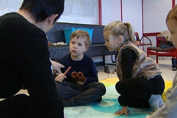 Le service ORL du CHU propose un atelier d'éveil musical destiné aux enfants sourds