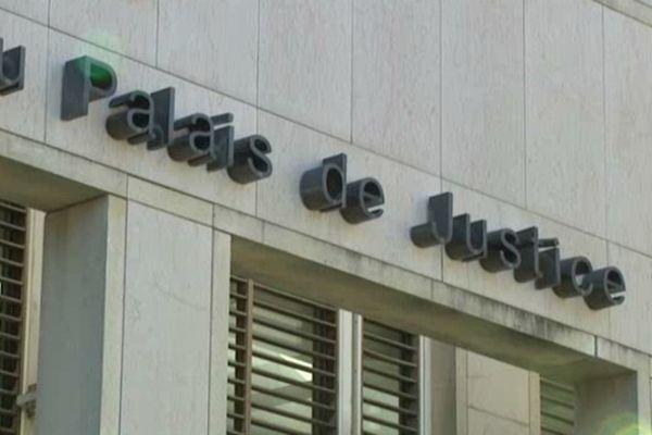Le Palais de justice de Montpellier - archives